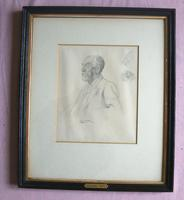 Augustus John: A Good Framed Sketch with Sotheby's Early Valuation Early 20th Century (3 of 7)