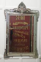 Superb Large 19th Century Venetian Cushion Mirror