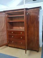 Antique Victorian Breakfront Wardrobe (3 of 6)
