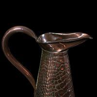 Antique Serving Ewer, English, Copper, Jug, Decorative, Arts & Crafts, Victorian (9 of 12)