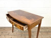 Reproduction Mahogany Bow Front Side Table (7 of 9)