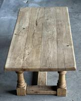 French Bleached Oak Coffee Table (3 of 11)