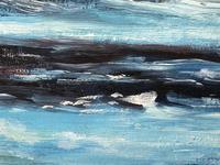 20th Century Oil Painting Wales Menai Bridge Church Straits Snowdonia Mountains (17 of 27)