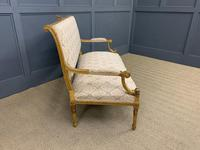 19th Century French Giltwood Settee (12 of 15)