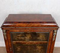 Pier Cabinet Inlaid Walnut 19th Century (4 of 13)