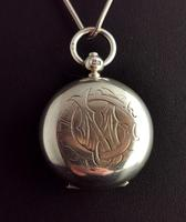 Antique Silver Sovereign Case, Coin Holder, Edwardian (3 of 13)