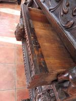 Carved Italian Walnut Chest of Drawers 5 Drawers 1760 (7 of 10)