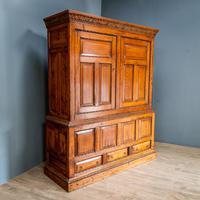 Large 18th Century Pine Cabinet