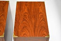 Pair of Military Campaign Style Rosewood Side Chests (8 of 10)
