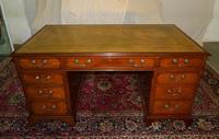 Mahogany Pedestal Desk (3 of 6)