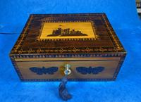 William IV Early Mosaic Tunbridge Ware Table Box (14 of 20)