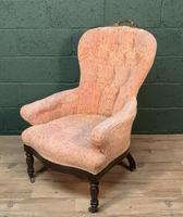 French Louis Philippe Rosewood Armchair (6 of 10)