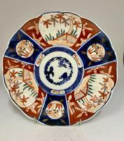 Antique Imari Porcelain Plate c.1870 (3 of 4)