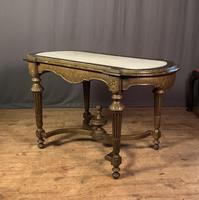 Napoleon III Giltwood Library or Sofa Table (11 of 13)