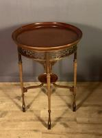 Fine Quality Edwardian Side or Lamp Table (7 of 10)