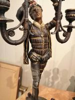 Superb Quality & Unusual French Clock Garniture (17 of 19)