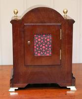 Mahogany & Satinwood Mantel Clock by Maple & Co (5 of 6)