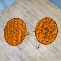 Pair of Mahogany Tripod Tables (6 of 9)