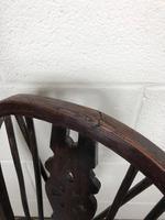 Antique Ash & Elm Child's Wheelback Chair (6 of 6)