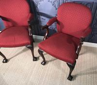 Pair of Mahogany Desk Chairs c.1920 (3 of 15)