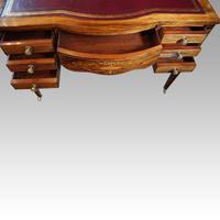 Edwardian Inlaid Rosewood Writing Table (2 of 12)