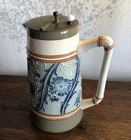 James Macintyre & Co Lidded Hot Milk Jug c.1896