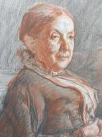 Victorian pastel portrait of grand mam artist Dodd (Free shipping to Mainland England) (9 of 10)