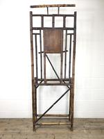 Late Victorian Antique Bamboo Hall Stand with Mirror (7 of 7)