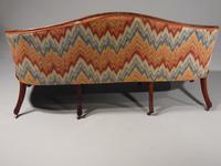Shapely & Elegant Mid 19th Century Camelback Sofa (2 of 5)