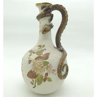 A Very Large and Very Fine Royal Worcester Porcelain Dragon Ewer C.1887 (5 of 11)
