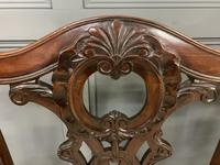 Mahogany Chippendale Style Triple Chair Back Settee (4 of 18)