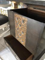 Vintage Hardwood Decorative Sewing Box Cabinet (4 of 10)