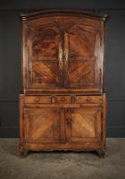 Large 18th Century Fruitwood Cabinet (3 of 8)
