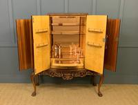 Large Burr Walnut Cocktail Cabinet (2 of 17)