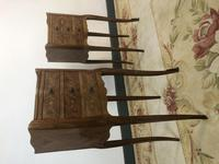 French Marquetry Kingwood Bedside Tables Rustic Distressed (11 of 13)