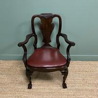 Set of 8 Edwardian Antique Walnut Dining Chairs (12 of 13)