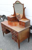 1900's Quality Mahogany Dressing Table with Central Mirror Stand (4 of 5)