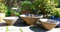 Set of the conical garden planters (8 of 9)