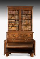 George III Period Mahogany Secretaire Bookcase, Gillows of Lancaster Attributed (6 of 9)
