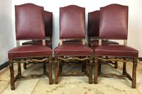 French Os De Mutton Set of 6 Dining Chairs (2 of 14)