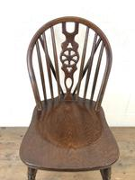 Set of Four Wheelback Dining Chairs (6 of 11)