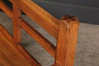 Solid Oak Arts & Crafts Bench (14 of 15)