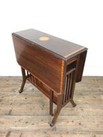 Antique Mahogany Inlaid Sutherland Side Table (2 of 9)