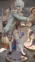 Antique French (probably) Porcelain Figures (2 of 3)