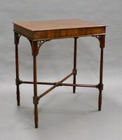 An Elegant George III Mahogany Occasional Table (2 of 5)