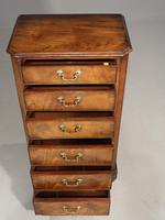 Very Well Figured Early 19th Century Wellington Chest (3 of 5)
