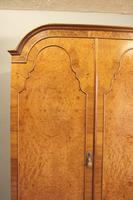 Quality Burr Walnut Triple Wardrobe c.1930 (9 of 15)