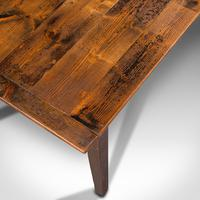 Antique Farmhouse Table, English, Pine, Country Kitchen, Dining, Victorian, 1900 (8 of 10)