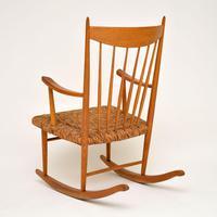 1950's  Danish Vintage Rocking Chair (8 of 9)