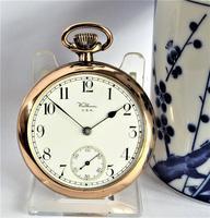 Antique Waltham Pocket Watch - 1908